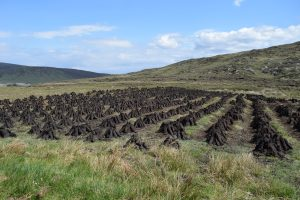 Ireland Tours See the Drying Peat